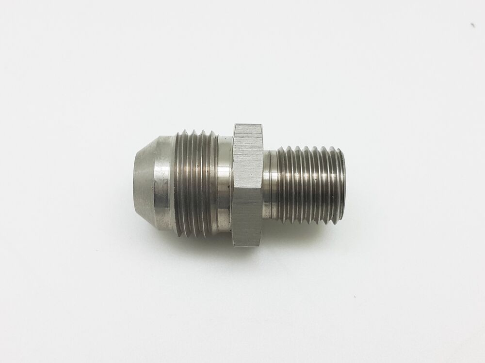 An to m metric stainless steel brake fittings