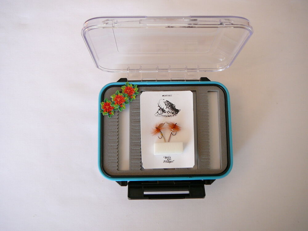 Ds a 25 waterproof fly box fly tying fly fishing for The fishing fly box