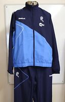 BOLTON WANDERERS NAVY/BLUE PRESENTATION SUIT BY REEBOK ADULTS SIZE LARGE BNWT