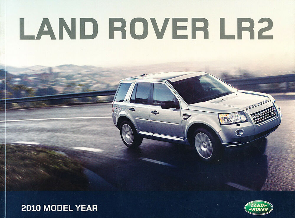2010 Land Rover Lr2 48 Page Sales Brochure Catalog Hse