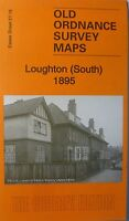 Old Ordnance Survey Map Loughton South near Chingford Essex 1895  S57.16  New