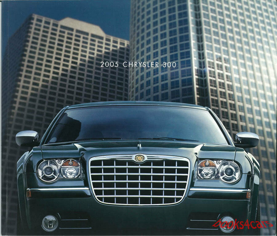 SALES BROCHURE CHRYSLER 2005 300 300C HEMI