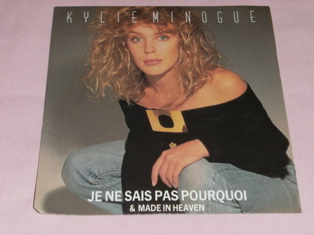 vinyl 7 single kylie minogue je ne sais pas pourquoi pwl21 ebay. Black Bedroom Furniture Sets. Home Design Ideas