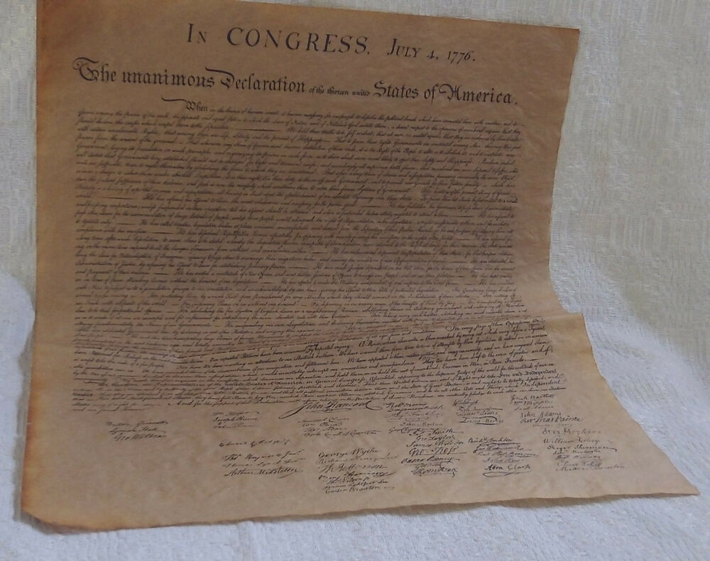 declaration of independence thesis
