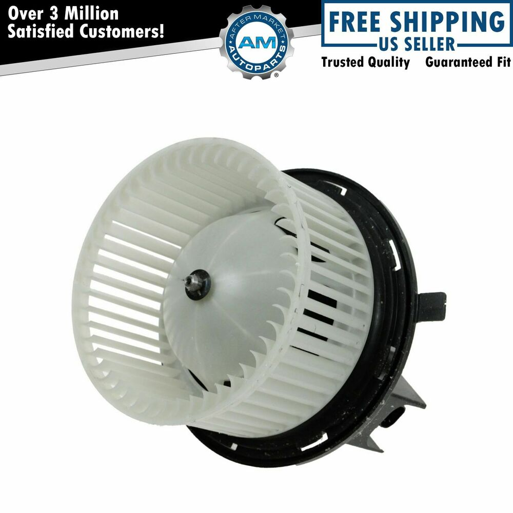 Heater A/C Blower Motor w/ Fan Cage for Jeep Wrangler ...