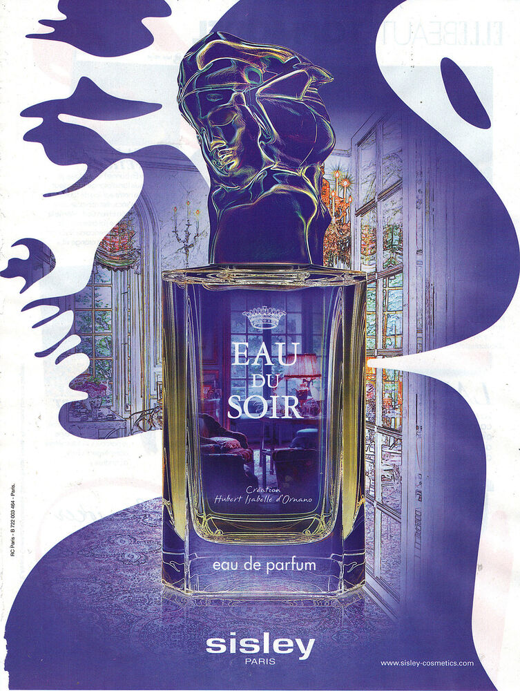 Hubert Isabelle D Ornano Flat In Paris: PUBLICITE ADVERTISING 2012 SISLEY Parfum Par Hubert