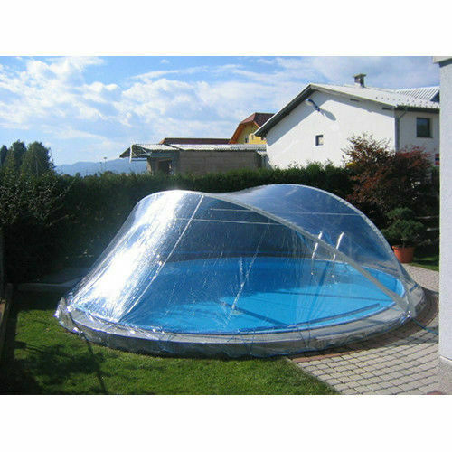 cabrio dome rundbecken schwimmbad abdeckung rund pool berdachung rundpool rund ebay. Black Bedroom Furniture Sets. Home Design Ideas