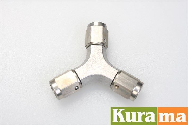 Stainless Brake Line Fittings : Stainless steel brake hose reusable fittings connector an