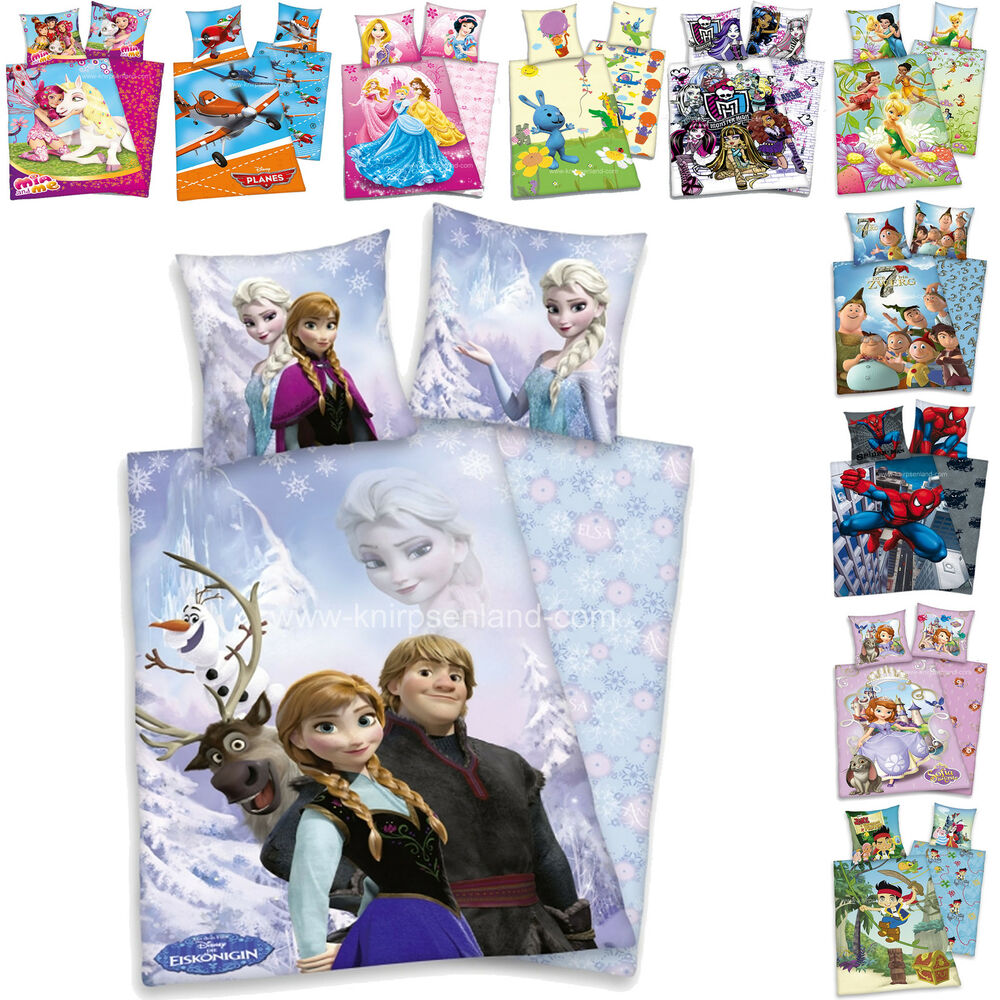 herding disney kinder bettw sche 3 d kinderbettw sche wendebettw sche 135x200 ebay. Black Bedroom Furniture Sets. Home Design Ideas