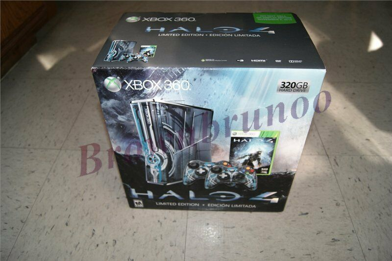 Halo 4 Limited Collector's Edition Xbox 360 320 GB Console ...