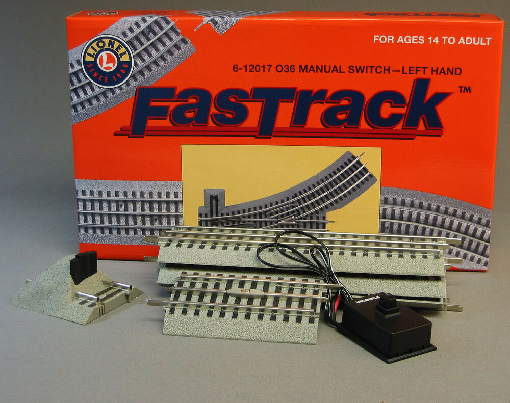 Lionel Fastrack Lot Track Inner Siding Pack Switch Train