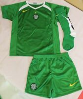 CELTIC 2005/06 AWAY MINI KIT BY NIKE SIZE LARGE BOYS 6-7 YEARS BRAND NEW