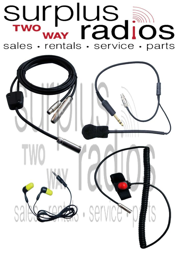 nascar racing radio kit ptt helmet kit ear plug harness