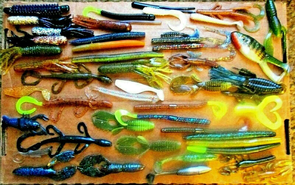 plastic fishing lures | ebay, Soft Baits