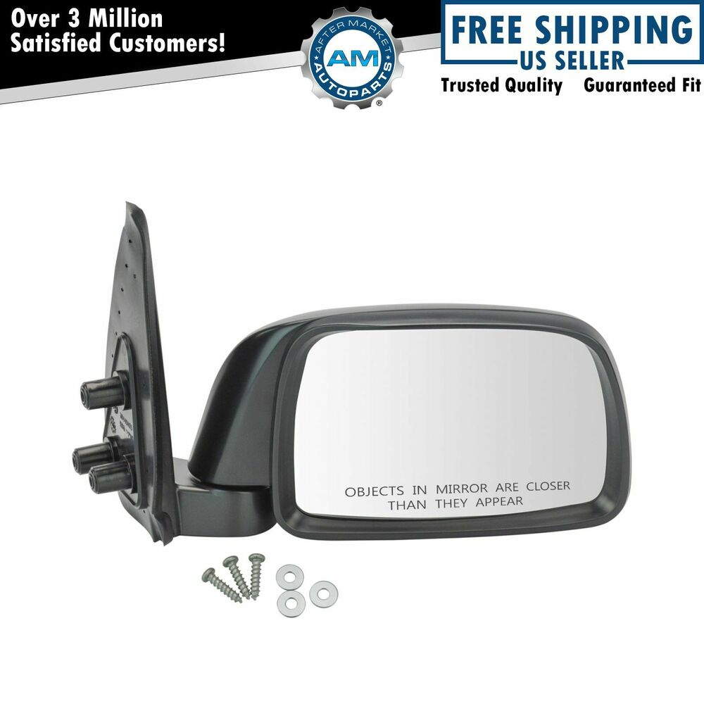 Folding Manual Side View Mirror Passenger Right Rh For 95
