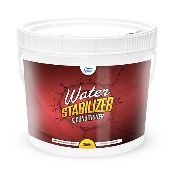 Pool stabilizer water conditioner 25lbs uv protection ebay - What is swimming pool conditioner ...