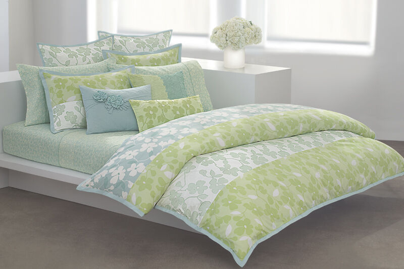 New Dkny Spring Blossom Duvet Cover Amp Shams 3pc Set King
