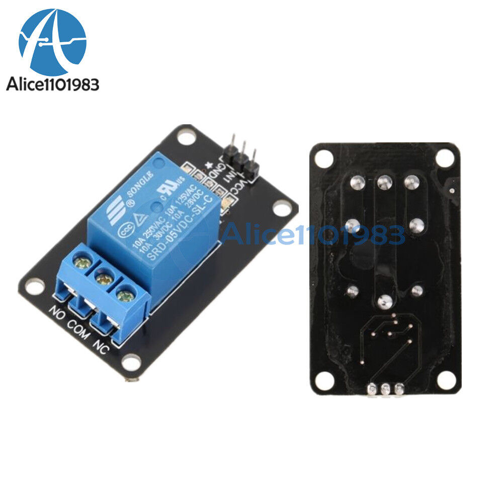 V one channel relay module board shield for pic avr dsp
