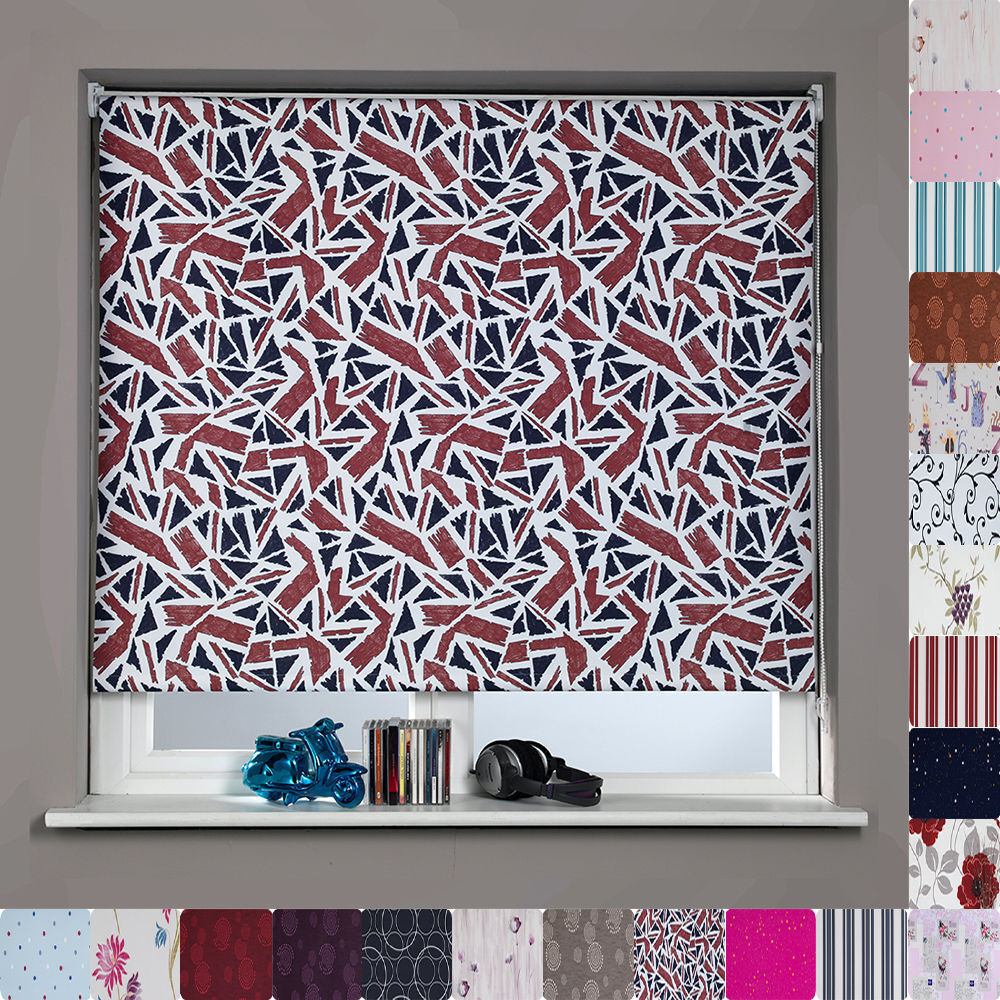 Patterned Blackout Roller Blinds Many Sizes Amp Patterns