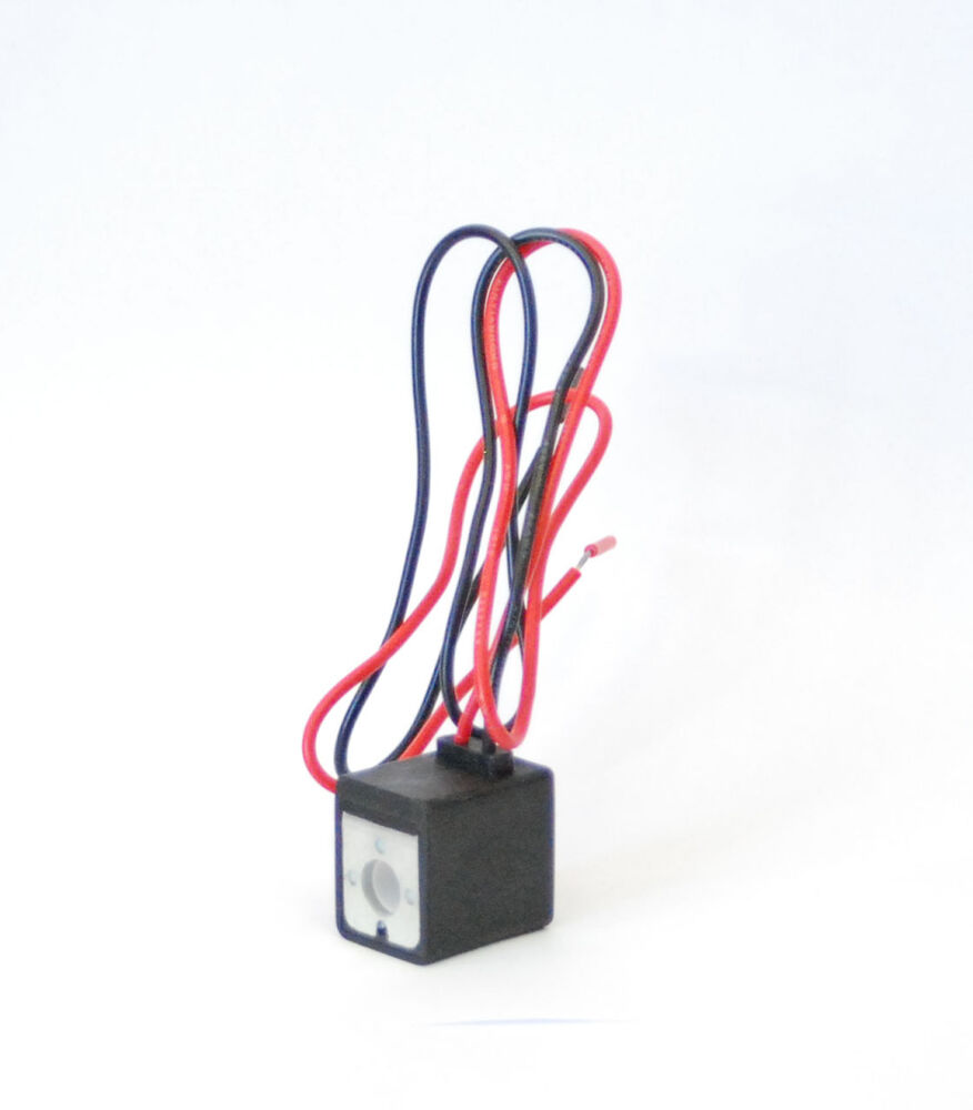 1pc 220v Ac Wire Lead Coil For Pneumatic Solenoid Valve