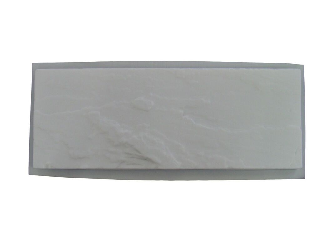 Slate Look Bench Top Concrete Cement Garden Stepping Stone