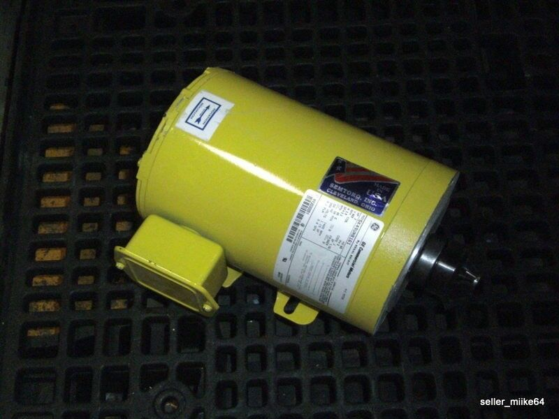 General electric 5k49un8161 commercial motor ac motor 2 for Ge commercial motors 5kcp39fg