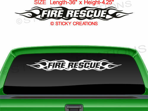 Emergency Search & Rescue Small Round Reflective Decal ...  |Rescue Window Decals
