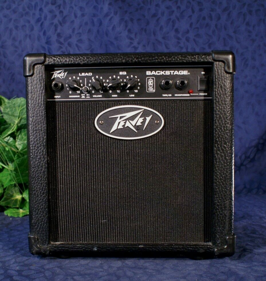 vintage peavey backstage 2 channel guitar amp amplifier ebay. Black Bedroom Furniture Sets. Home Design Ideas