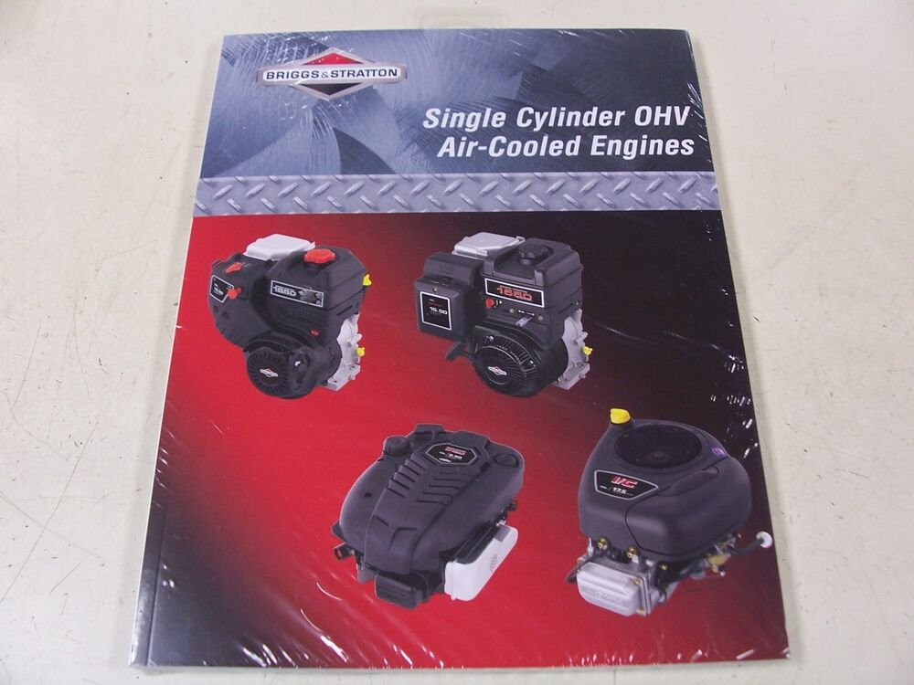 Briggs stratton engine ohv repair manual 276781 new for Briggs and stratton motor locked up