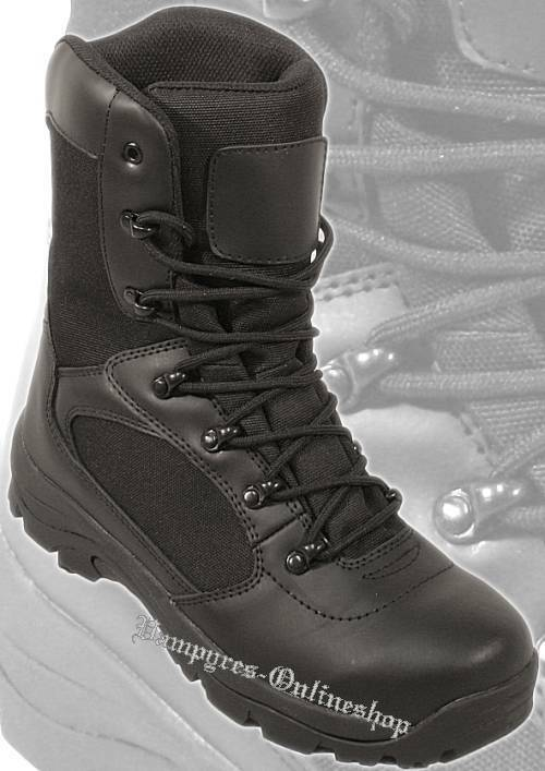 By MMB Tactical Boot Schwarz Security Stiefel Boots Outdoor Schuhe