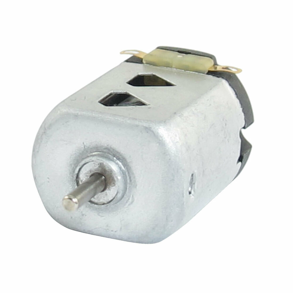 1 5v Dc 9000rpm Silver Tone Flat Electric 130 Motor For