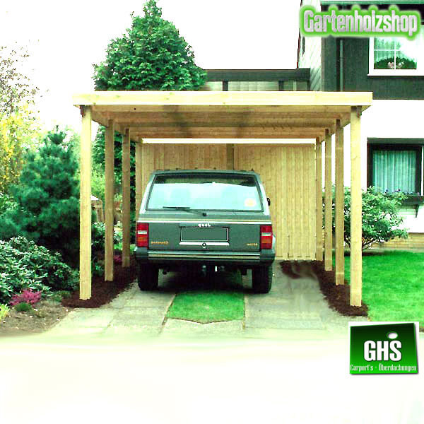 carport 4x6 m holz bausatz 11 11 cm st tzen schneelast. Black Bedroom Furniture Sets. Home Design Ideas