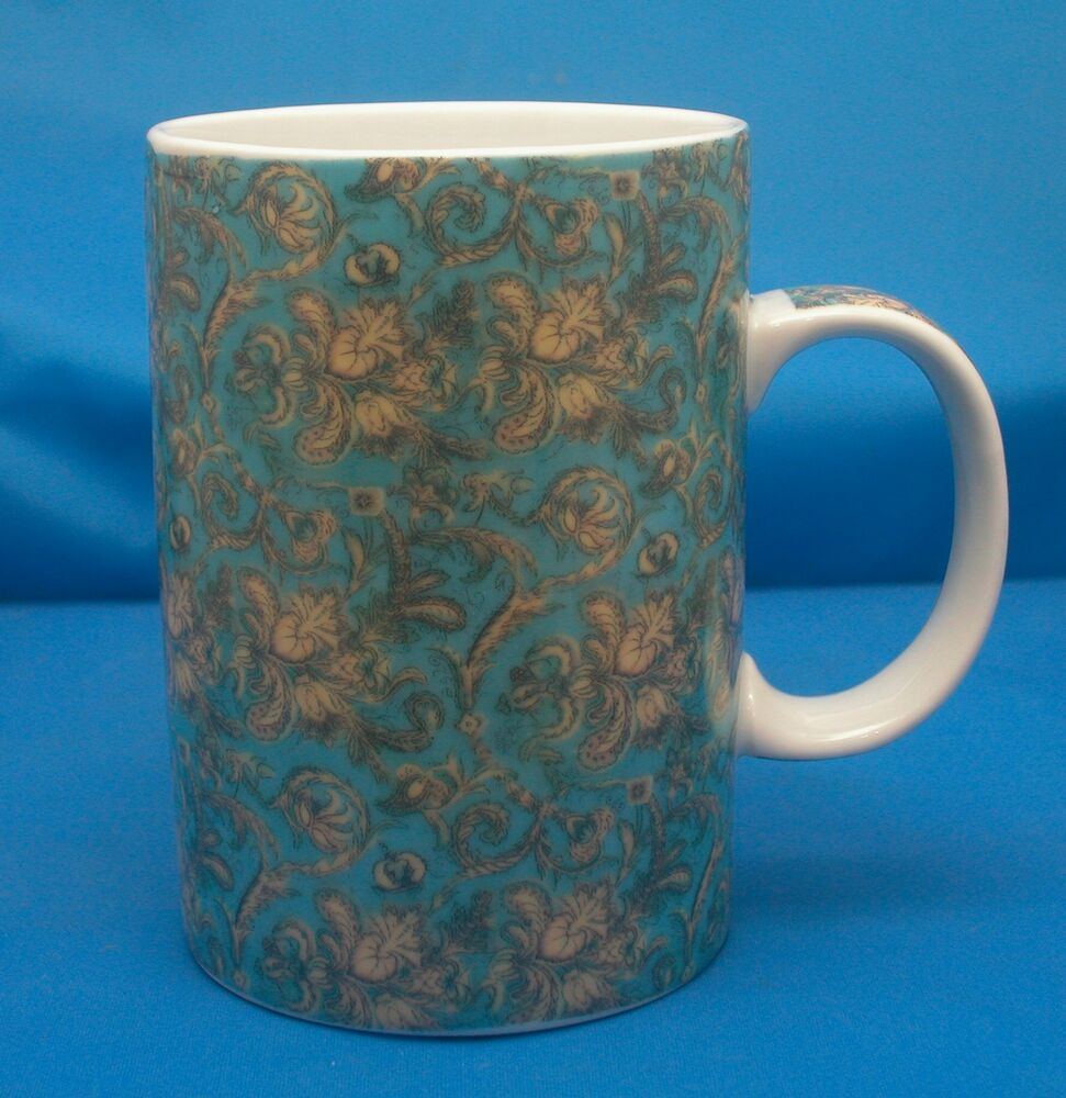 tall coffee mugs world market porcelain coffee mug tea cup floral design 4 11445