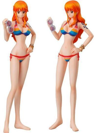one piece anime shonen jump super styling film z special 4th figure bikini nami ebay. Black Bedroom Furniture Sets. Home Design Ideas