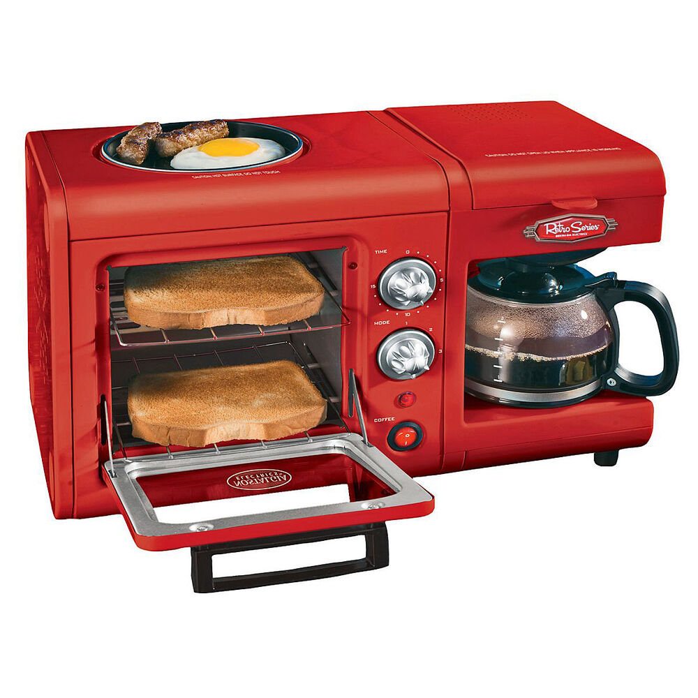 s l1000 Toaster Oven Coffee Maker Griddle Combo