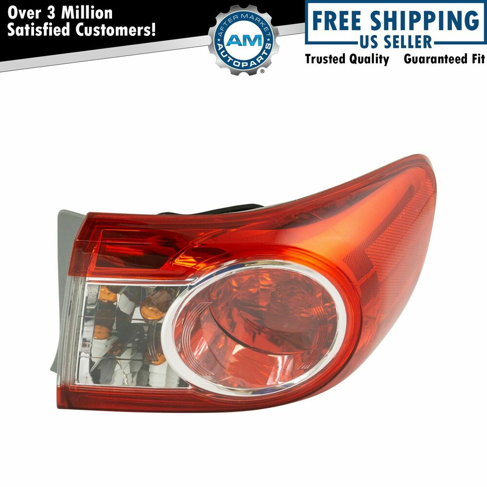 outer brake light taillight lamp passenger right rh for. Black Bedroom Furniture Sets. Home Design Ideas