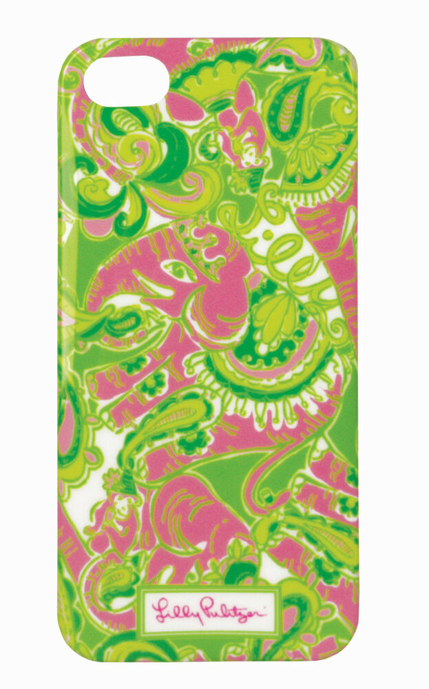 LILLY PULITZER IPhone 5 CHIN CHIN Mobile Cell Phone Cover Case PINK ...