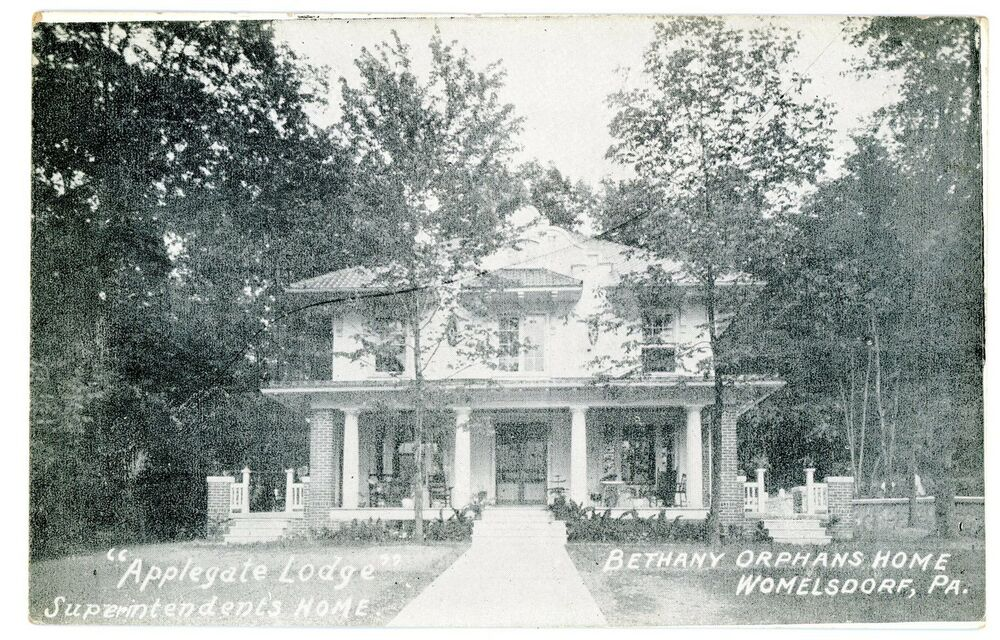 Womelsdorf pa applegate lodge bethany orphans home for Applegate house