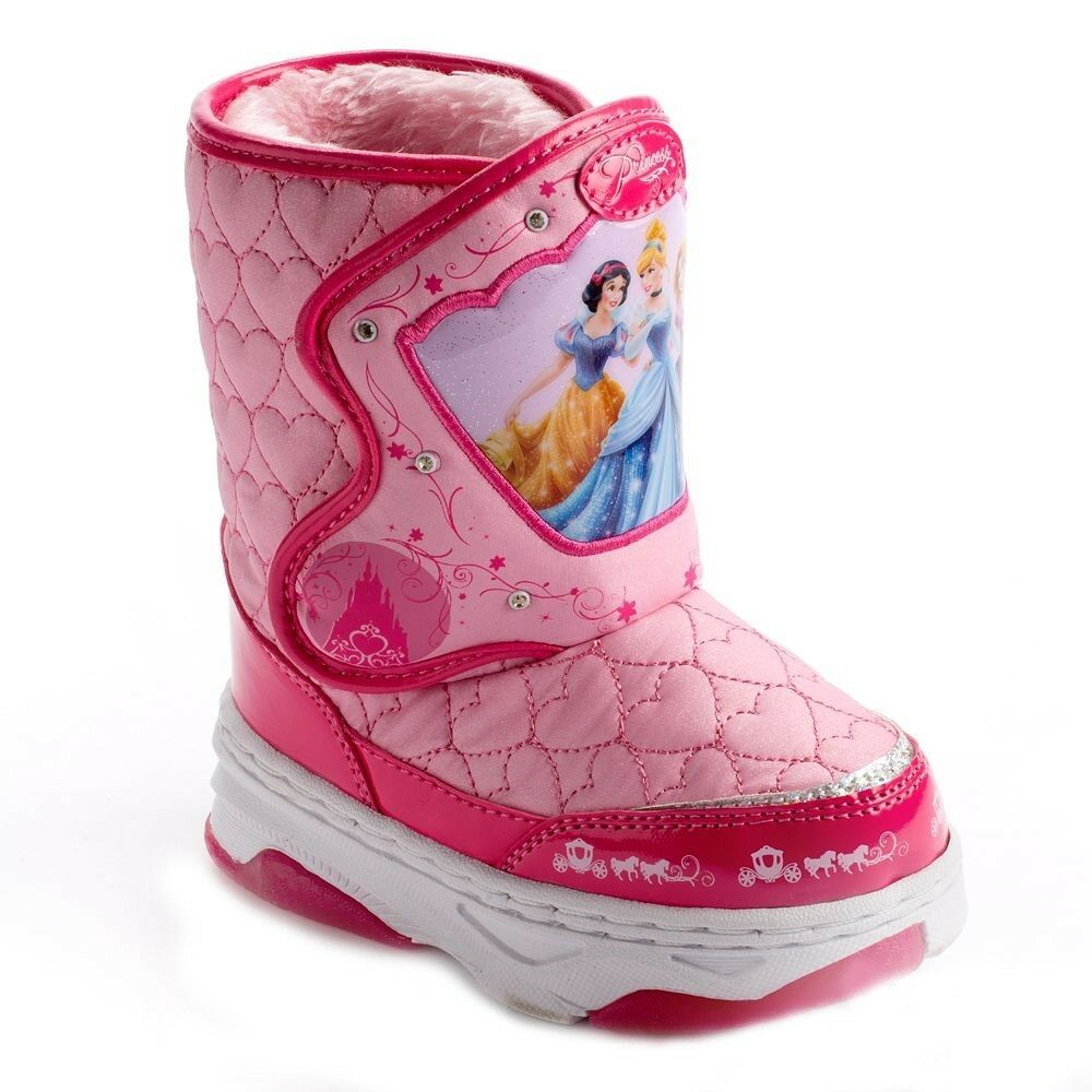 Winter Toys 10 And Up : New off princess girls disney light up snow boots