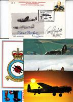 30th Anniv of the Battle of Britain Memorial Flight Double Signed  1 Jul 87 Linc