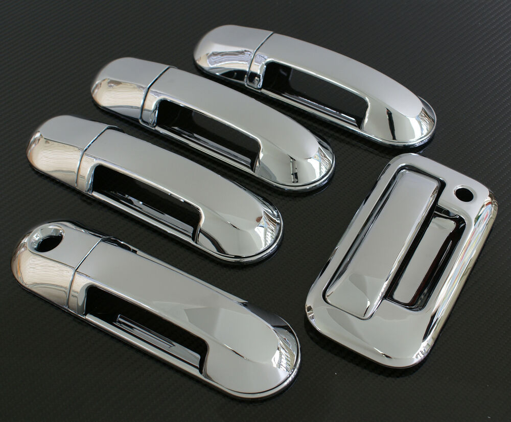 2008 2009 Ford Explorer Sport Trac Chrome Door Tailgate Handle Cover Ebay