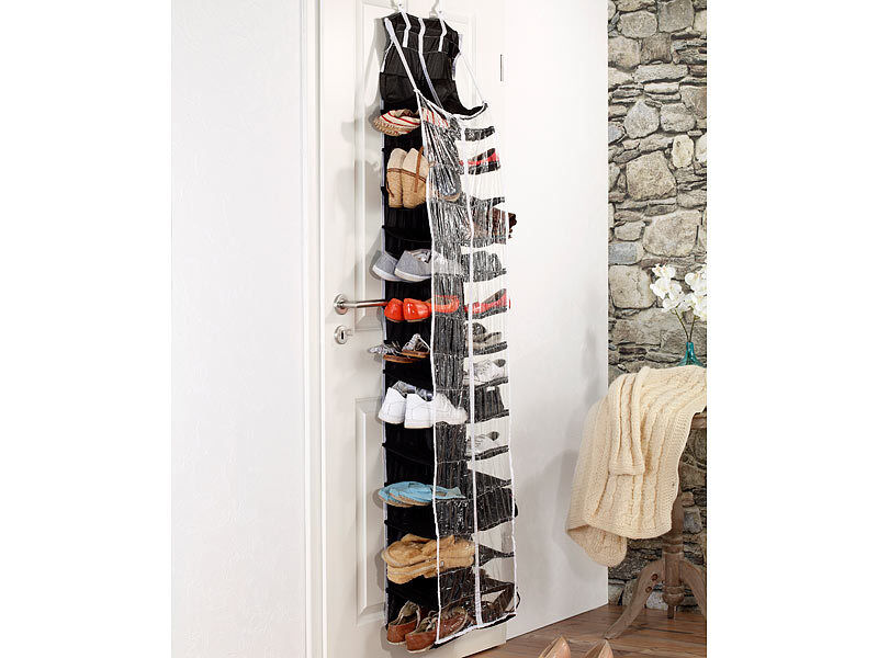 praktisch schuhregal 60 paar schuhe h ngend t r regal schuhablage regal h ngend ebay. Black Bedroom Furniture Sets. Home Design Ideas