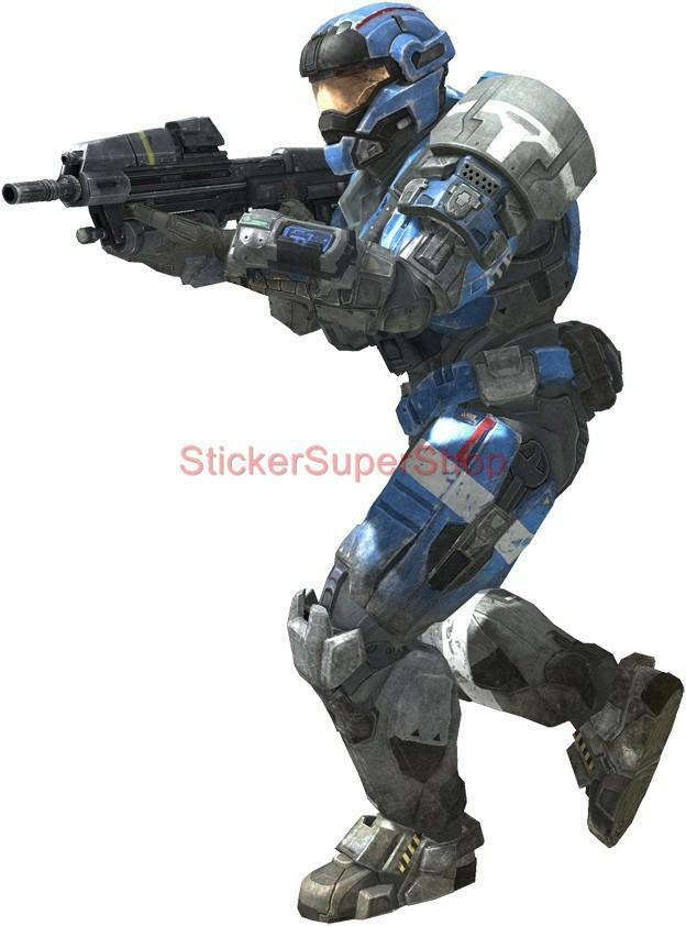 master chief in action halo 4 decal removable wall sticker artistic murals halo mural with master chief