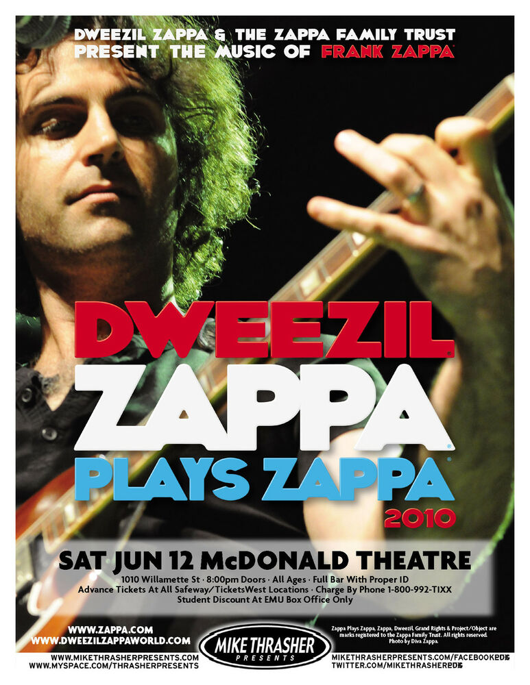 zappa plays zappa tour dates