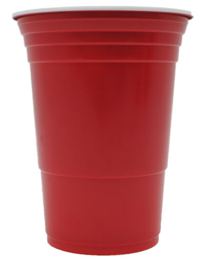 red cups rote becher trinkbecher 16 oz redcups party becher bier beer pong ebay. Black Bedroom Furniture Sets. Home Design Ideas