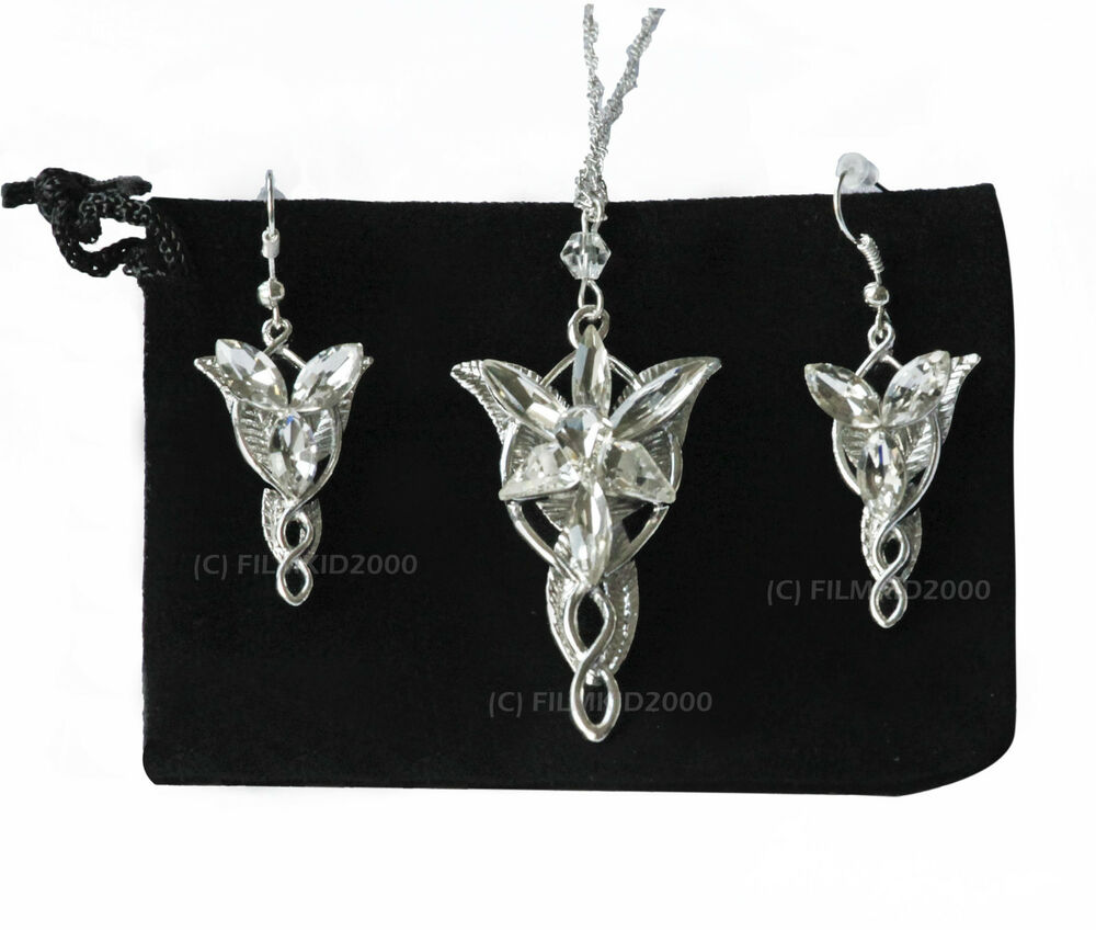 lotr lord of the rings hobbit arwen evenstar necklace
