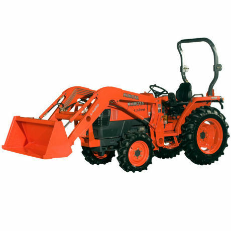 kubota sondermodell l3200 allrad traktor mit frontlader ebay. Black Bedroom Furniture Sets. Home Design Ideas
