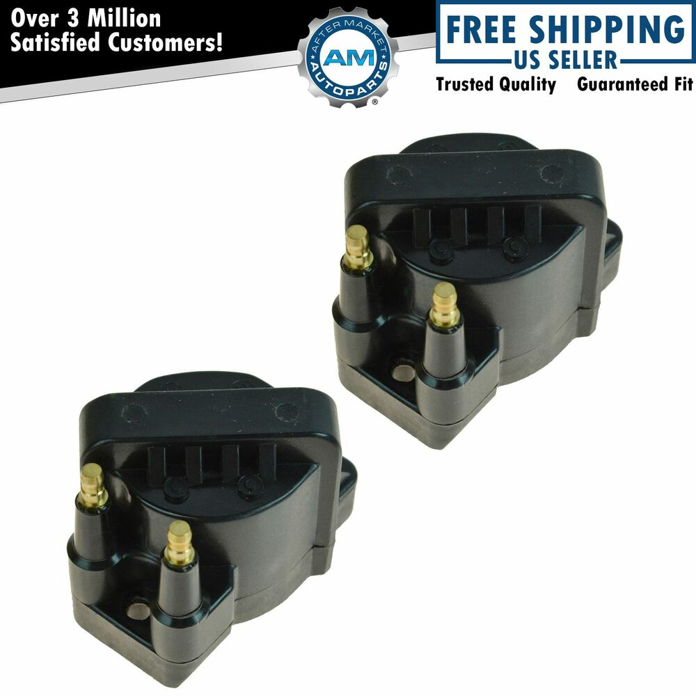 Chevy S10 Turbo Kit 4 3: Ignition Spark Coil Set Of 2 Kit For Chevy GMC Buick
