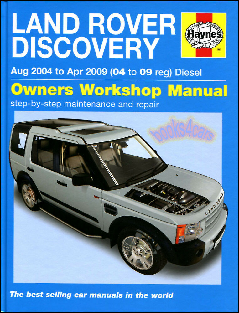 Land Rover Lr3 Discovery Shop Manual Service Repair 2005 Manual Guide