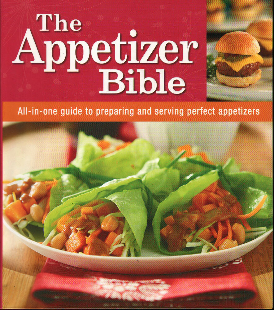 The appetizer bible new cookbook recipes finger food for Hor d oeuvres recipes